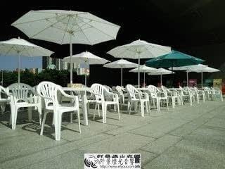 丹丹桌椅組 帶傘桌椅 1阡景燈光音響watermark 陽傘桌椅組